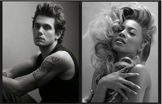 Beyonce, John Mayer, Barclays Center
