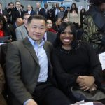 Former NYC Comptroller John Liu and District Leader Renee Collymore