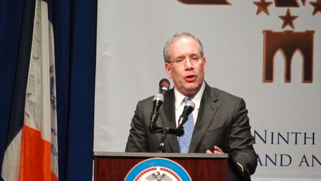 NYC Comptroller Scott Stringer provided remarks at the Inaugural Ceremony of Kings County D.A. Ken Thompson