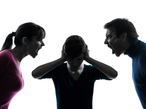 Kids Harmed When Parents Fight