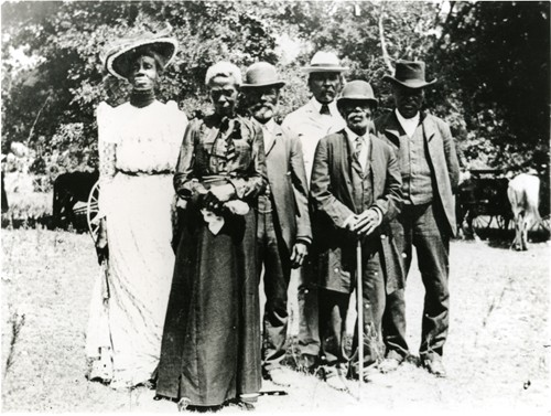 Juneteenth celebration in Austin, Texas, on June 19, 1900 Photo: Wikipedia.org