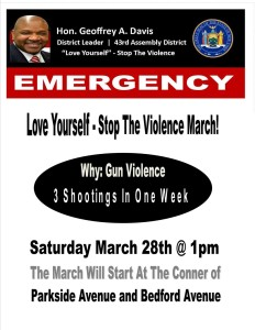 43rd AD Race: Davis Marches With Love Yourself Stop Violence Foundation