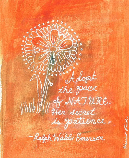 Emerson Nature Quotes: The Wait Is Over: A Quote From Ralph Waldo Emerson