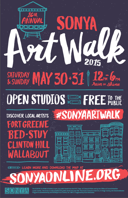 Find the next Basquiat at the SONYA Art Walk...just bring some comfortable shoes