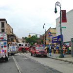 four-story building, Fulton St and Tompkins Ave, Bed-Stuy, 1438 Fulton St, collapse,