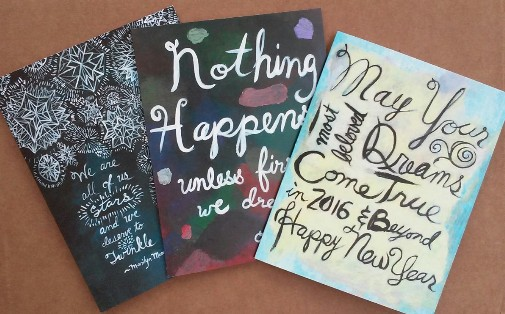 THEY'RE HERE! Inspirational Cards for the Holidays! | The Brooklyn ...