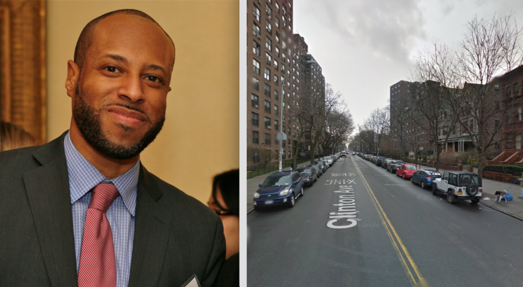 """Attorney and former Clinton Hill resident Carey Gabey will receive a street co-naming, """"Carey Gabay Way,"""" on Clinton Avenue between Myrtle and Willoughby avenues in Clinton Hill."""