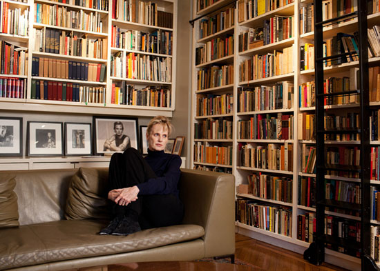 Author Siri Hustvedt in her Brooklyn home.