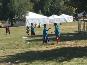 Nickelodeon, kids, playing, active, outdoors