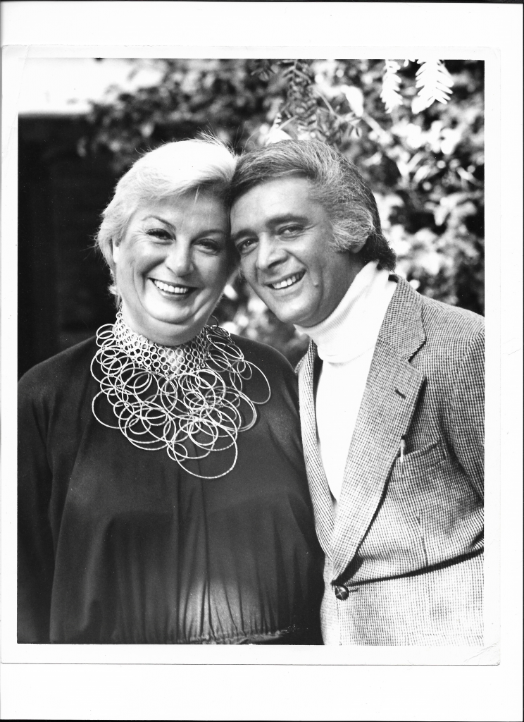 Marty Richards with wife Mary Lea Johnson
