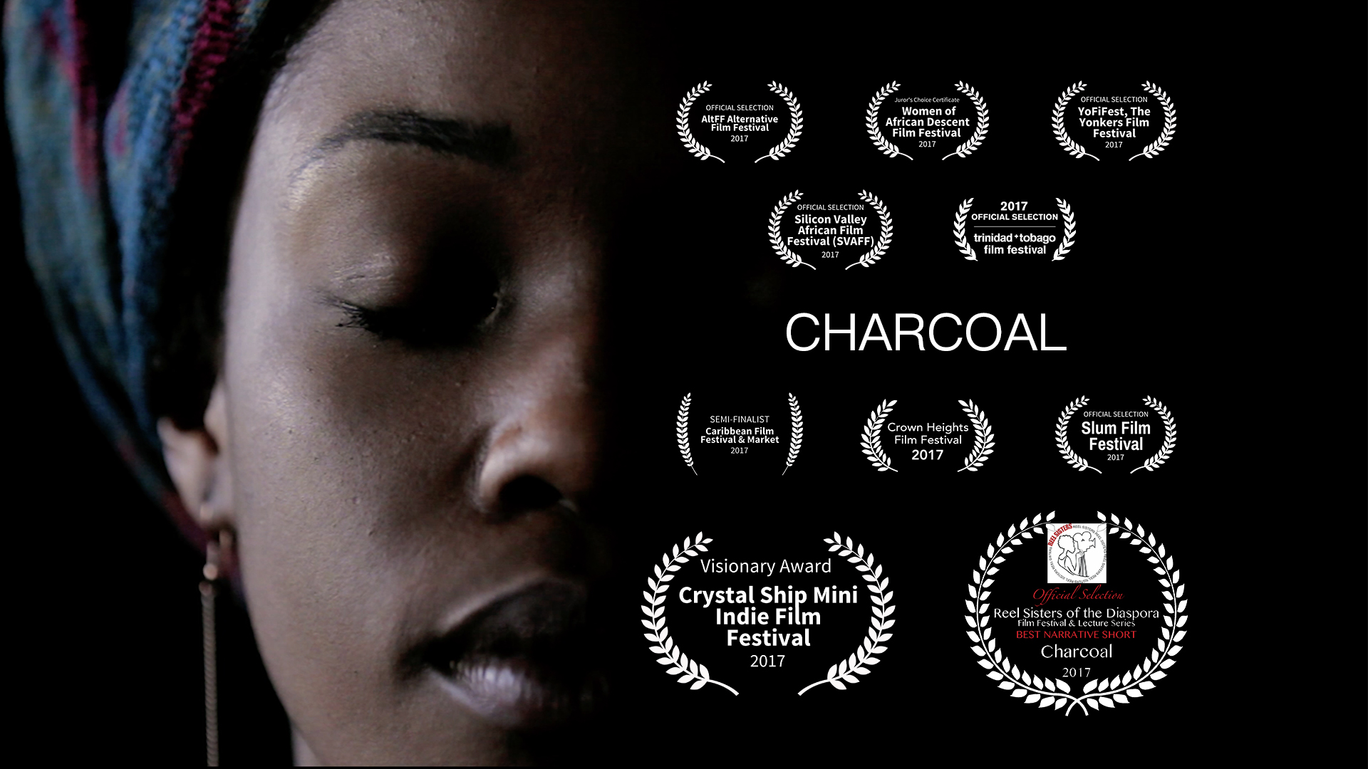 Francesca Andre, Charcoal, Short Film, Blackness, Colorism, Self-Acceptance, Love, African, Diaspora, Haiti, Self-Hate, Anti-Blackness, BK Reader, Daphnee