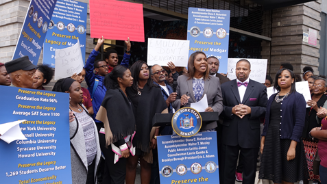 Medgar Evers College Preparatory School, Medgar Evers Prep, Crown Heights, middle school admission, admission process, students with disability, Department of Education , BK Reader, State Senator Jesse Hamilton, Councilmember Laurie Cumbo, State Assemblywoman Diane Richards, State Assemblyman Walter Mosley, Borough President Eric Adams, Public Advocate Letitia James