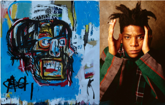 Basquiat, BK Reader, graffiti, Brooklyn Museum, Untitled, One Basquiat, Brooklyn art, Jean-Michel Basquiat