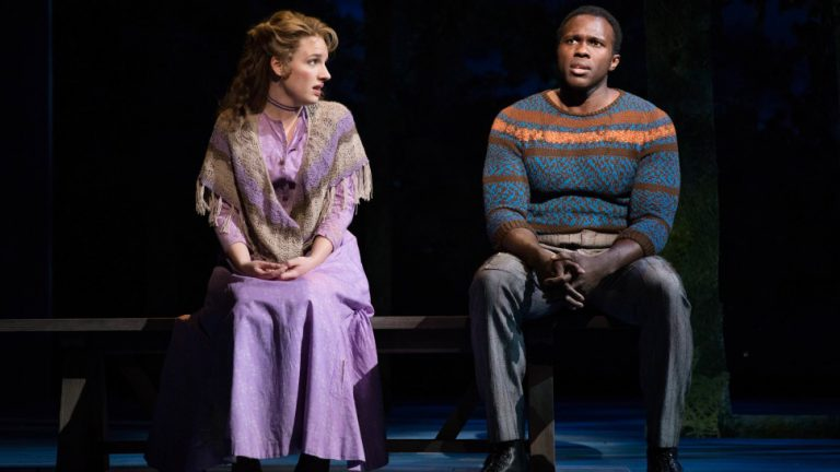 Jessie Mueller and Joshua Henry singing If I Loved You from the current revival of Carousel on Broadway.