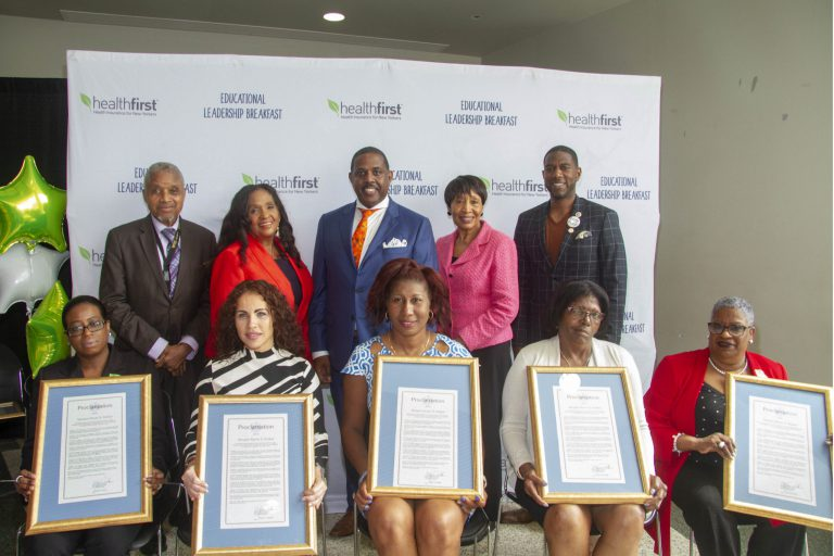 State Senator and Councilmember Williams joined Healthfirst to honor NYC educators