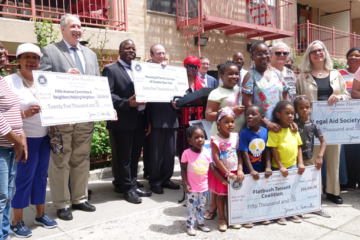 Senator Hamilton secured $190K in funding for local tenants' rights groups.