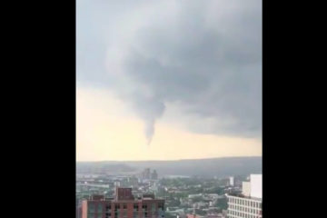 WATCH: 'Baby Tornado' Hovers Over Brooklyn As Storm Strikes