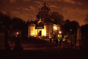 Brooklyn's Best Underground Music Scene: In the Catacombs of Green-Wood Cemetery